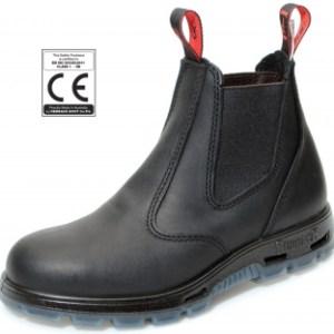 Redback sikkerhedsstøvler sort med ståltå