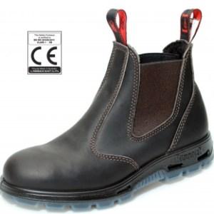 Redback sikkerhedsstøvler brun med ståltå