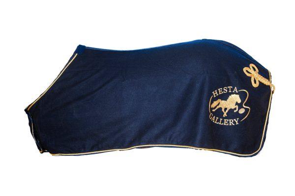 Hestagallery ulddækken blå