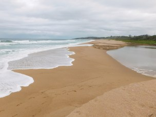 Mvusi river mouth