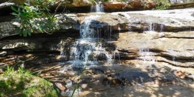 Samango-waterval in die Umzimkulwanarivier