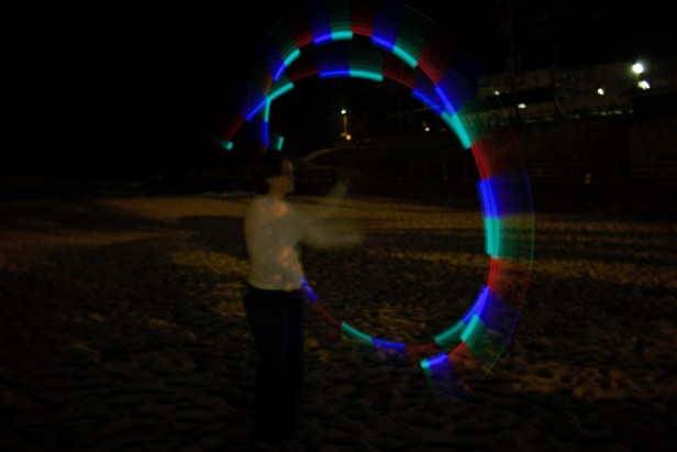 Poi out of focus