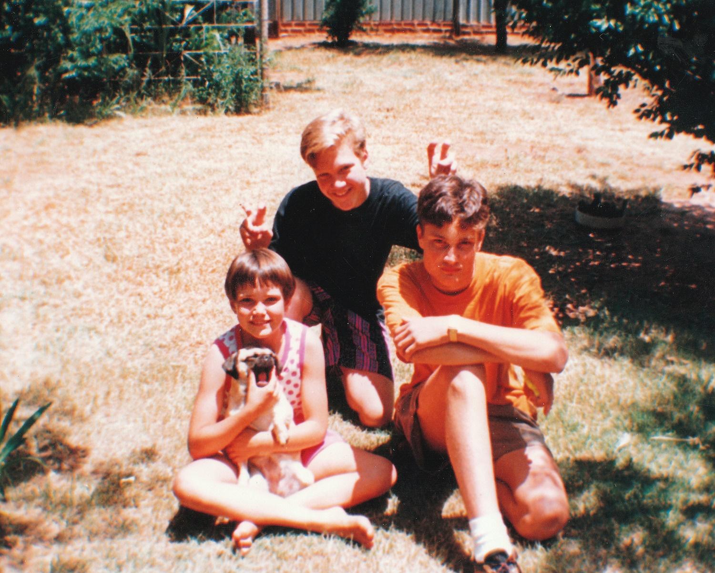 Bloemfontein 1993 at home in Fichardtpark