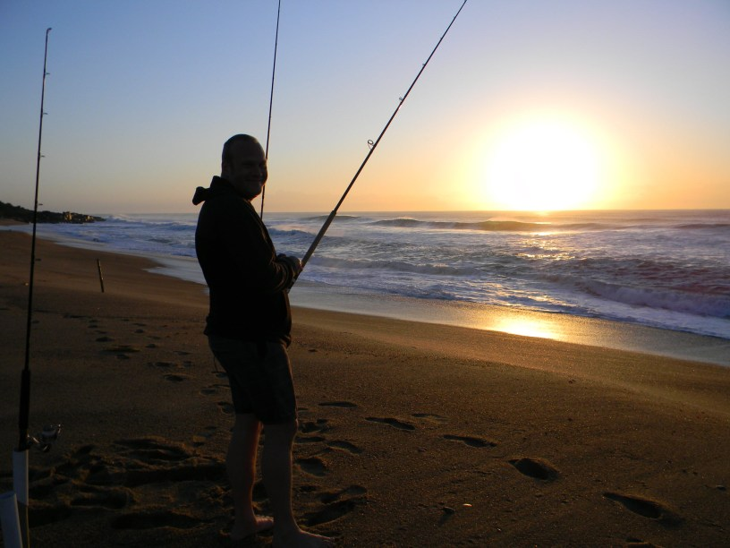 Sandspit, Port Shepstone, Kwazulu-Natal at sunrise