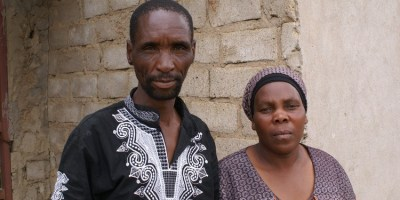 James and Rosina Komape remember clearly the day their son Michael drowned in a toilet at his school. Photo: Ciaran Ryan