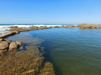 Southport Beach tidal pool
