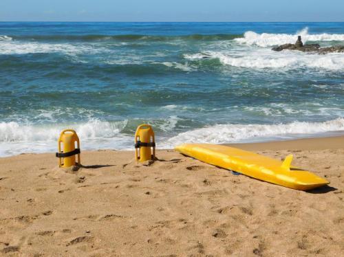 Lifeguards on duty Southport Beach
