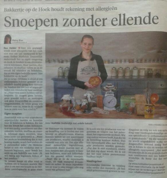 Foto: Het Bakkertje in de Courant