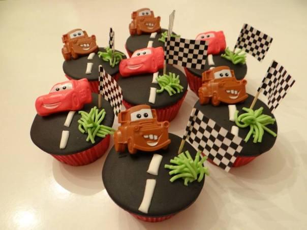 Foto: gedecoreerde cupcakes