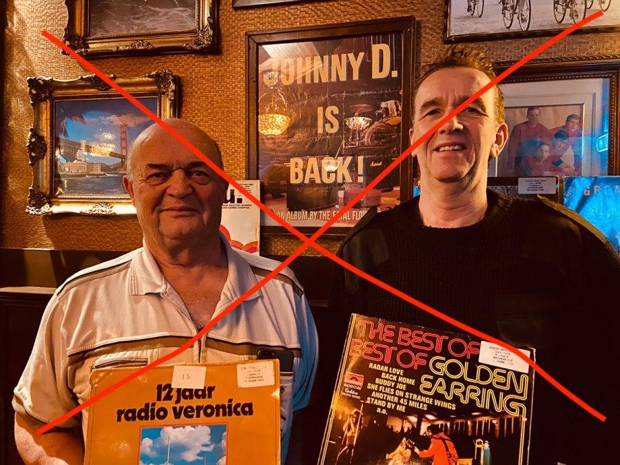 Loek en Rene, Wervershoof, Vinyl, Het Cafe, Bier- en Muziekcafe