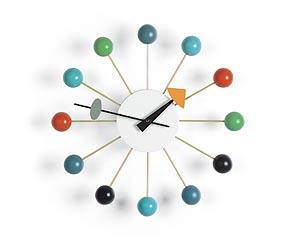 Vitra Ball Clock wandklok design George Nelson