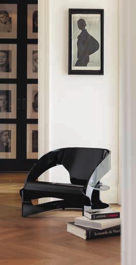 Kartell Joe Colombo fauteuil