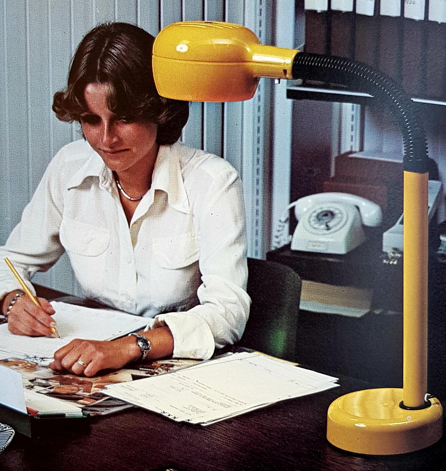 Vintage lampen jaren zeventig