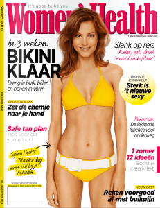 Women's Health-voorkant
