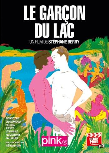 le garçon du lac -affiche-stephane-berry-pink-x-heteroclite