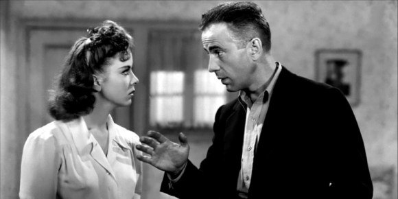 "Ida Lupino et Humphrey Bogart dans ""La Grande Evasion"" (1941)"