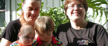 pma lesbian couple with kids copyright Emily Walker