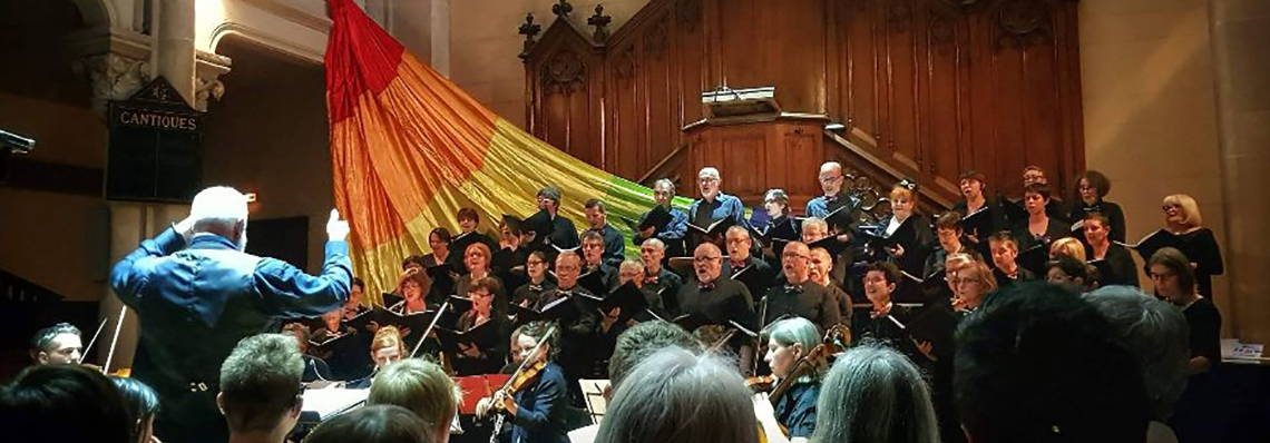 Concert Gloria a voix et a vapeur