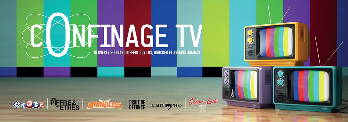 Confinage TV Banniere