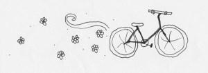 fiets tekening drawing