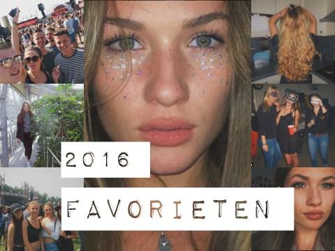 2016 favorieten