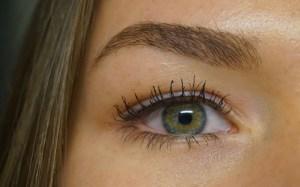 ogen mascara groen