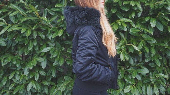 Winterjas iris huijkman zijkant Urban Outfitters Light before dark