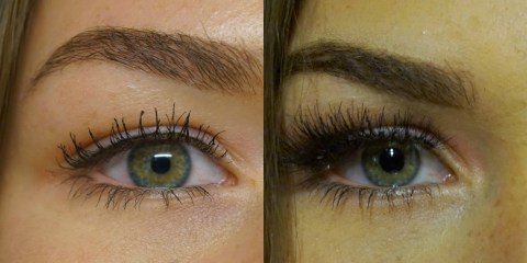 diy wimperextensions