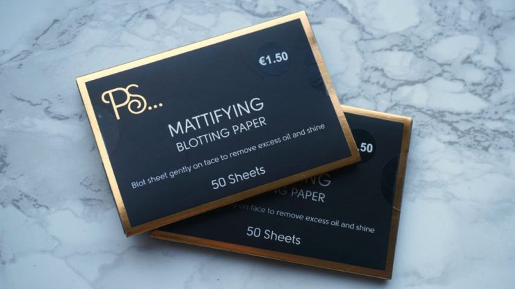 Blotting paper blog Primark