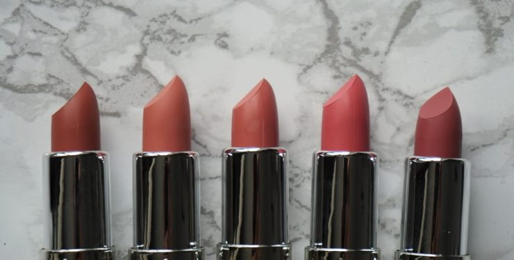 FREEDOM Naked Mattes Collection lipsticks