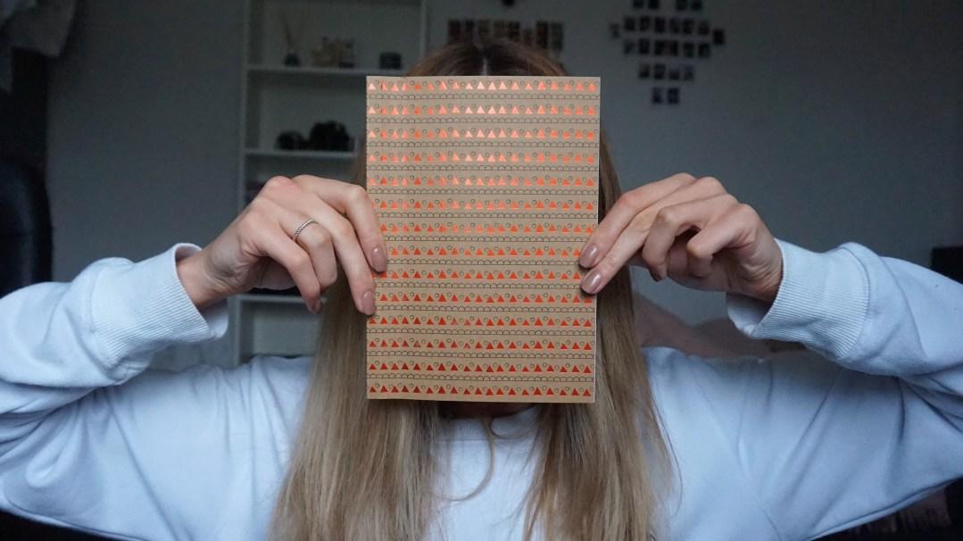 notitieboekjes notebooks opvullen