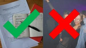 Ja tegen leren, Nee tegen feestjes