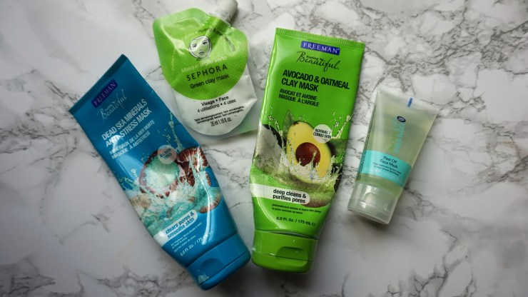 skincare routine masker