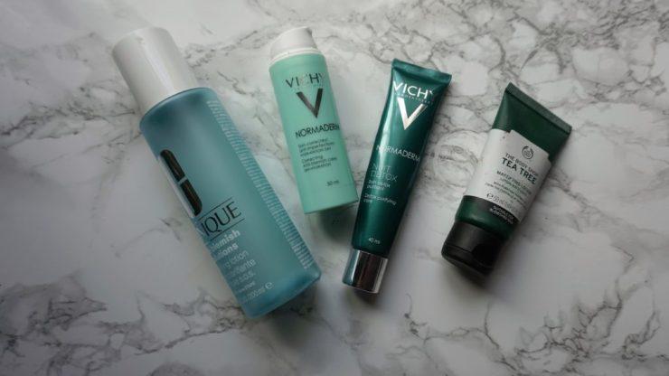 skincare routine toner moisturizer