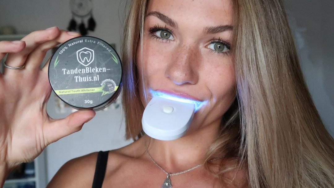 activated charcoal bleekset tanden bleken thuis