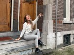 Iris verhuist naar Amsterdam wonen kamer
