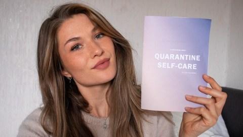 Quarantine self care workbook mental health book self love free printable printables Quarantaine Corona Virus uitbraak gratis printen uitprinten print