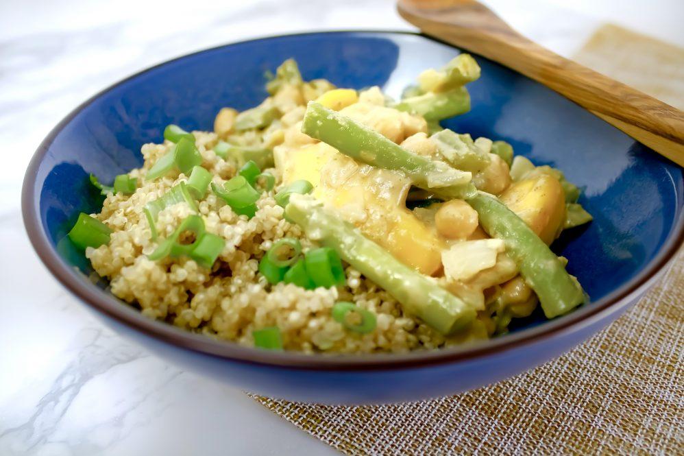 Recept | Zoete groene curry