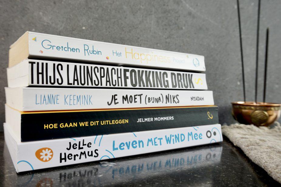 5 boeken die ik onlangs heb gelezen