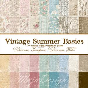 Vintage summer basics