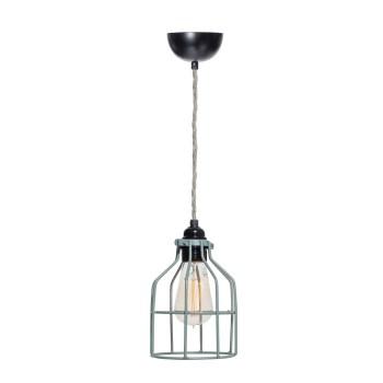 No.15 hanglamp Kooi grijs-groen