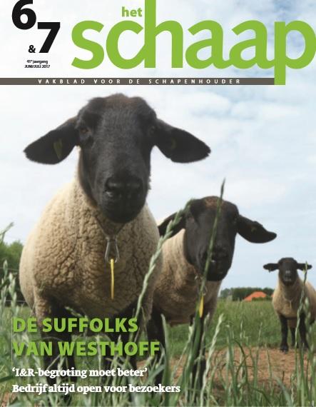 vakbad Het Schaap cover juni-juli 2017
