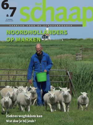 vakblad Het Schaap cover juni-juli 2019