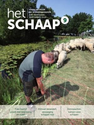 cover vakblad Het Schaap september 2020