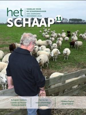 cover vakblad Het Schaap november 2020