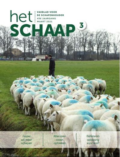 cover maarteditie 2021 vakblad Het Schaap