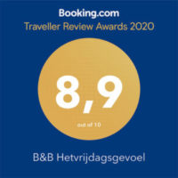 Booking.com Travellers Review Awards 2020