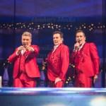 Toppers in Concert the Christmas Party of the Year op 21 December 2016 in Ahoy Rotterdam. Op de foto: Rene Froger, Gerard Joling en Jeroen van der Boom.