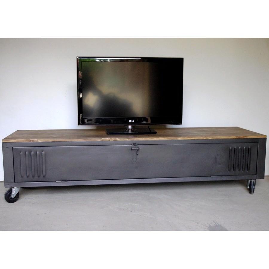 table de chevet industriel fashion designs. Black Bedroom Furniture Sets. Home Design Ideas