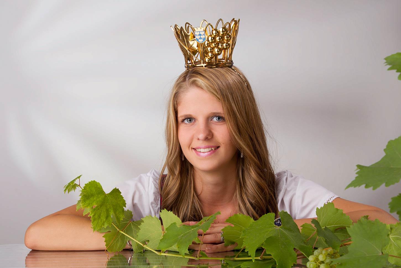 Weinvizekönigin Melanie